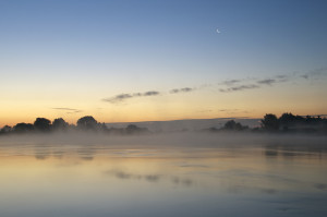 IJssel just before sunrise