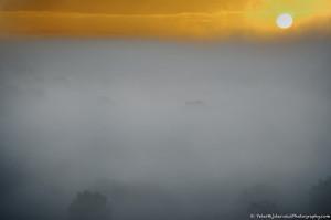 Fog over the Posbank