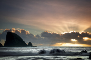 Sunrise on Ballydowan beach
