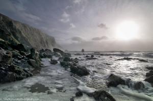 Sun over the Copper coast
