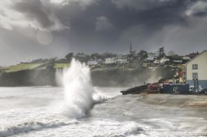 Waves at Tramore