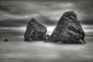 The rocks of Ballydowane cove