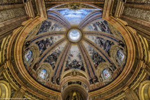 The dome of the basilica